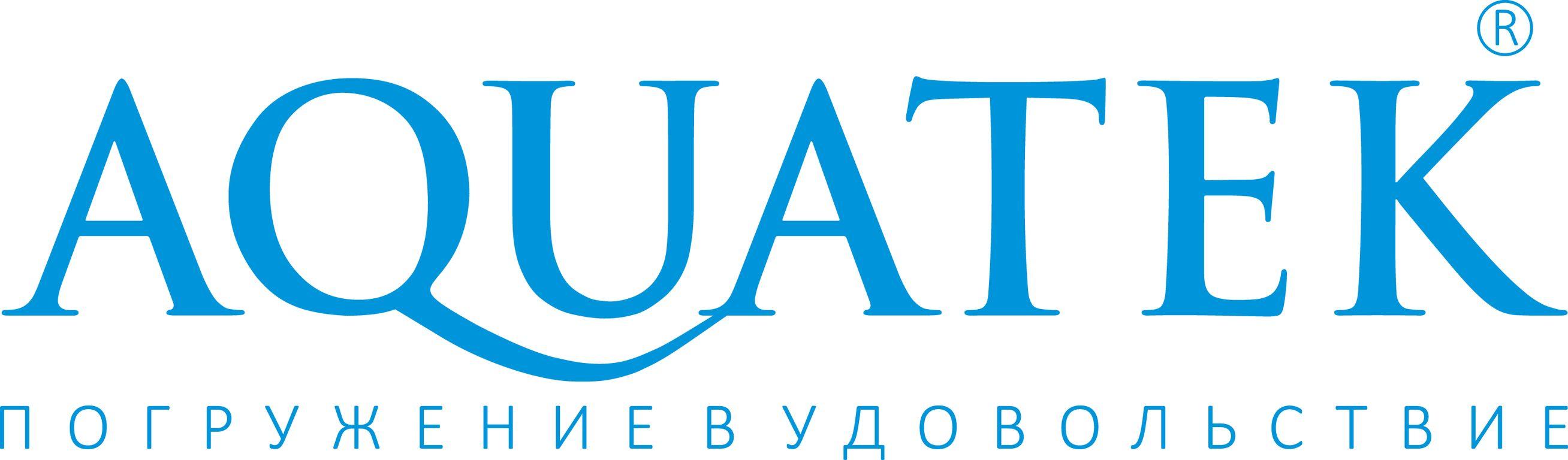 Акриловые ванны компании акватек. Логотип.