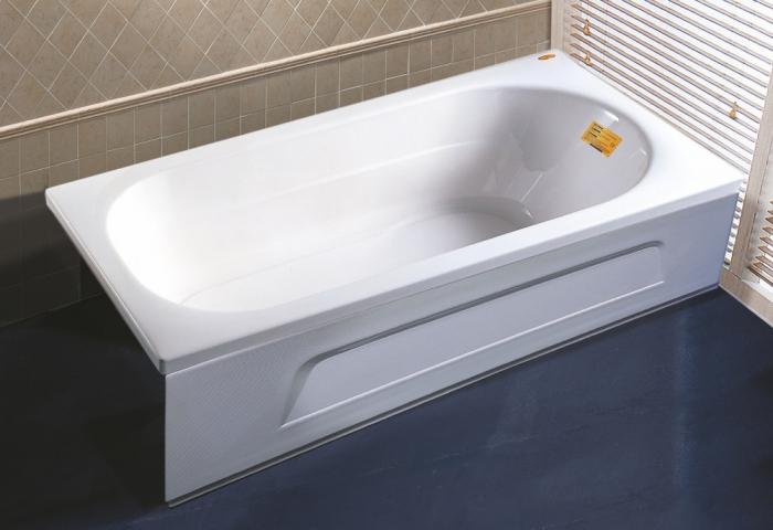 Ванна акриловая APPOLLO