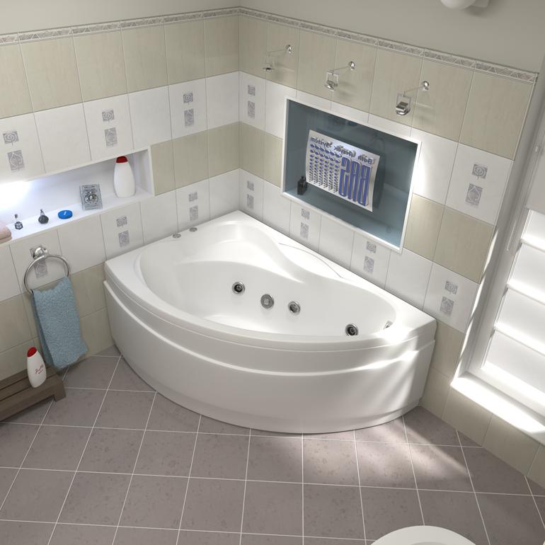 акриловая ванна 140