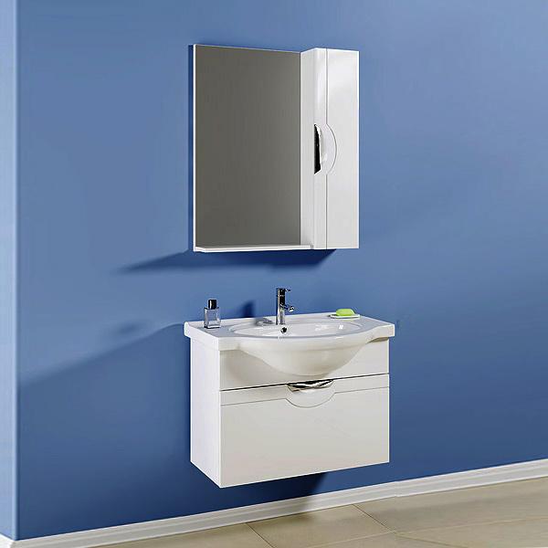 Зеркало для ванной комнаты Aqwella Н-Лайн