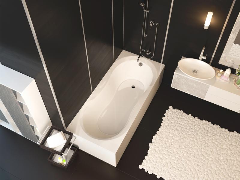 Купить акриловую ванну ALPEN Mars 170