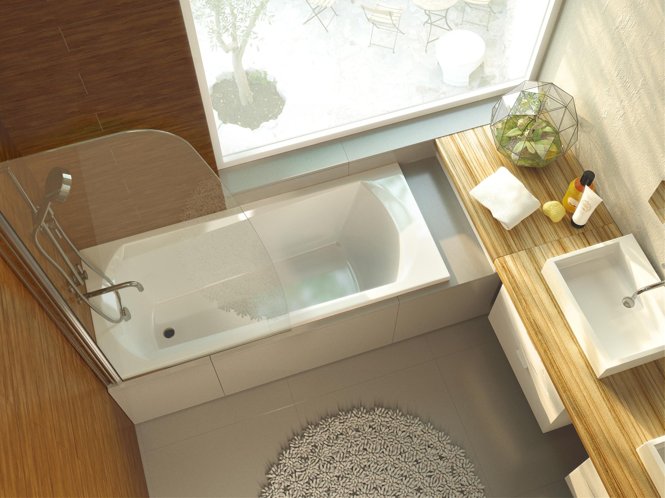акриловая ванна alpen diana 130x70