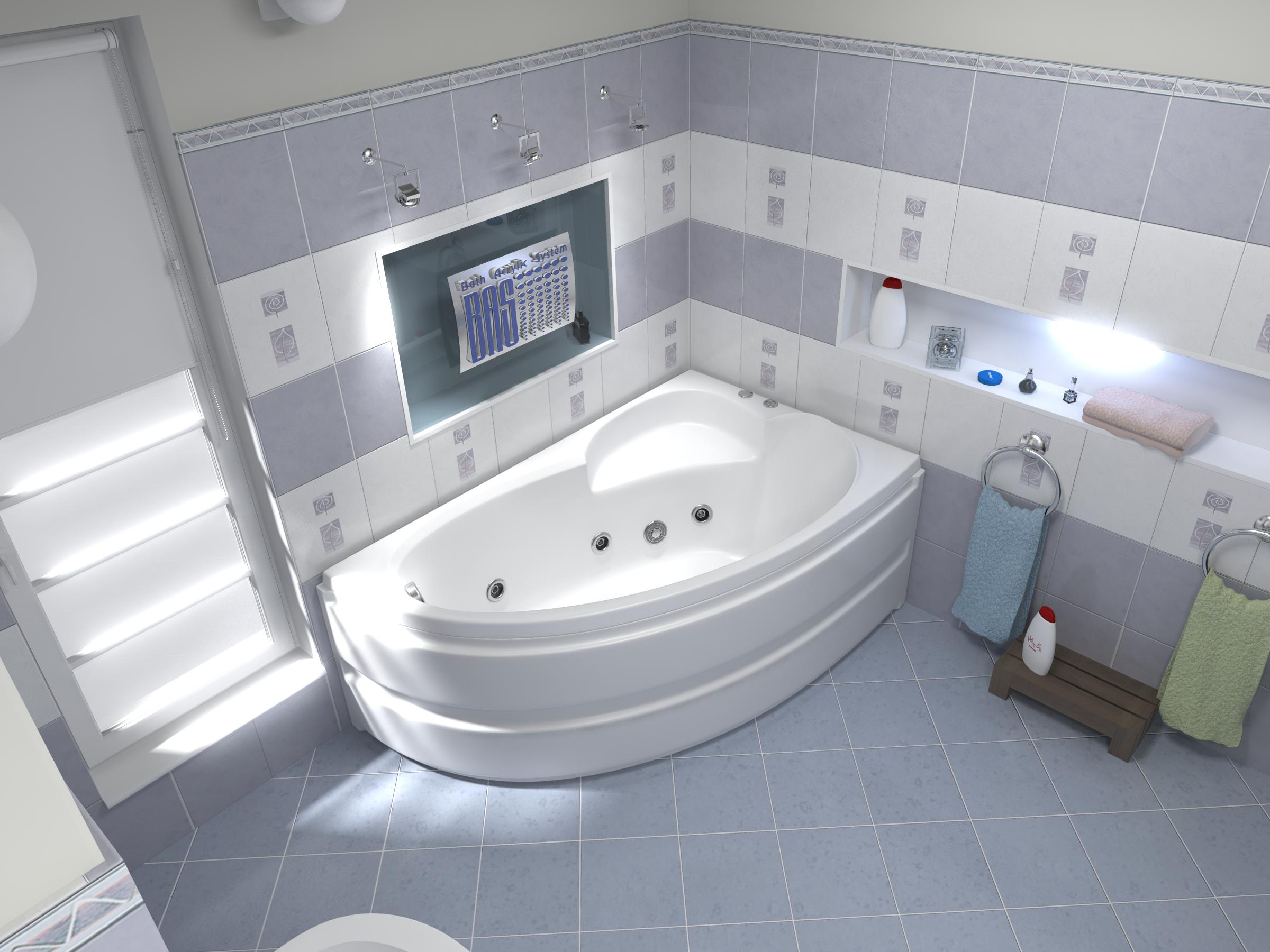Купить акриловую ванну bas в СПБ
