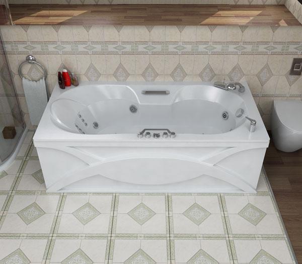 акриловые ванны Polar