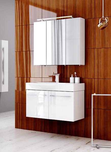 Мебель для ванной Аквелла (Aqwella) - Милан
