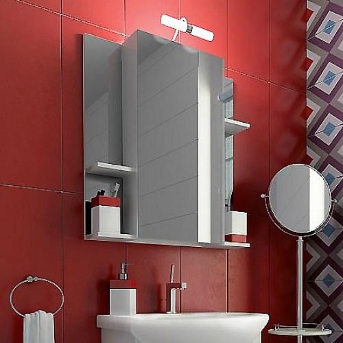 купить зеркальный шкаф для ванной тритон