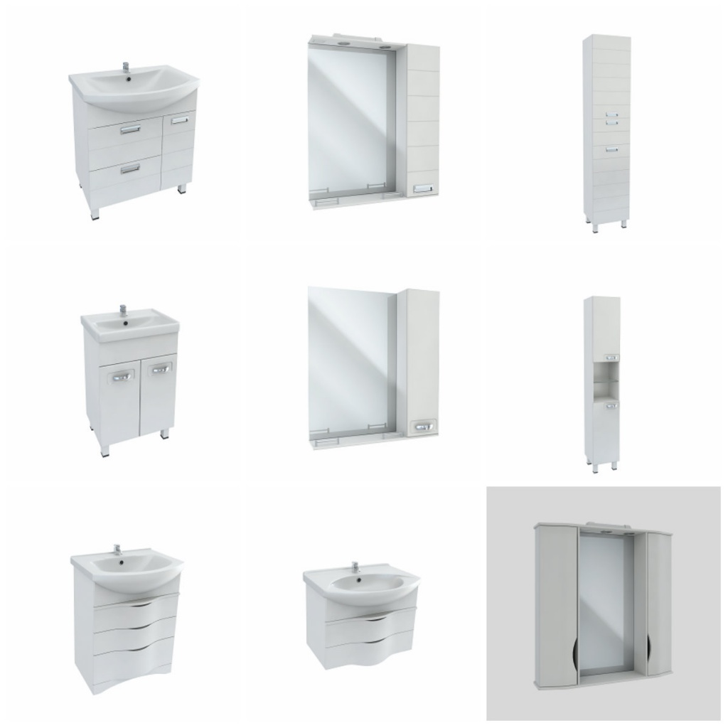мебель для ванной bas