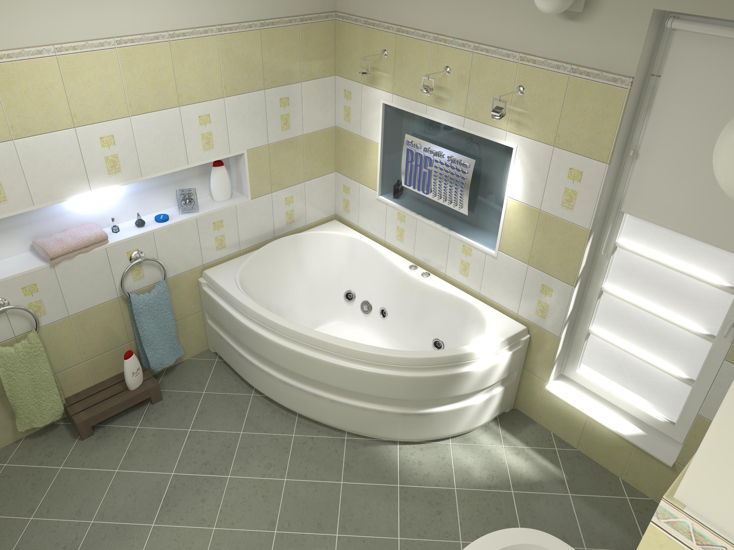 Акриловые ванны BAS в Санкт-Петербурге