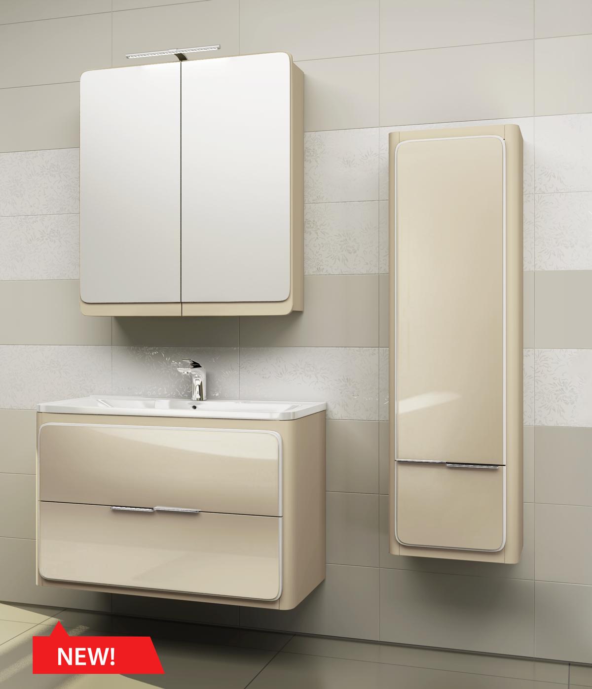 Коллекция мебели для ванной комнаты Edelform Кальма