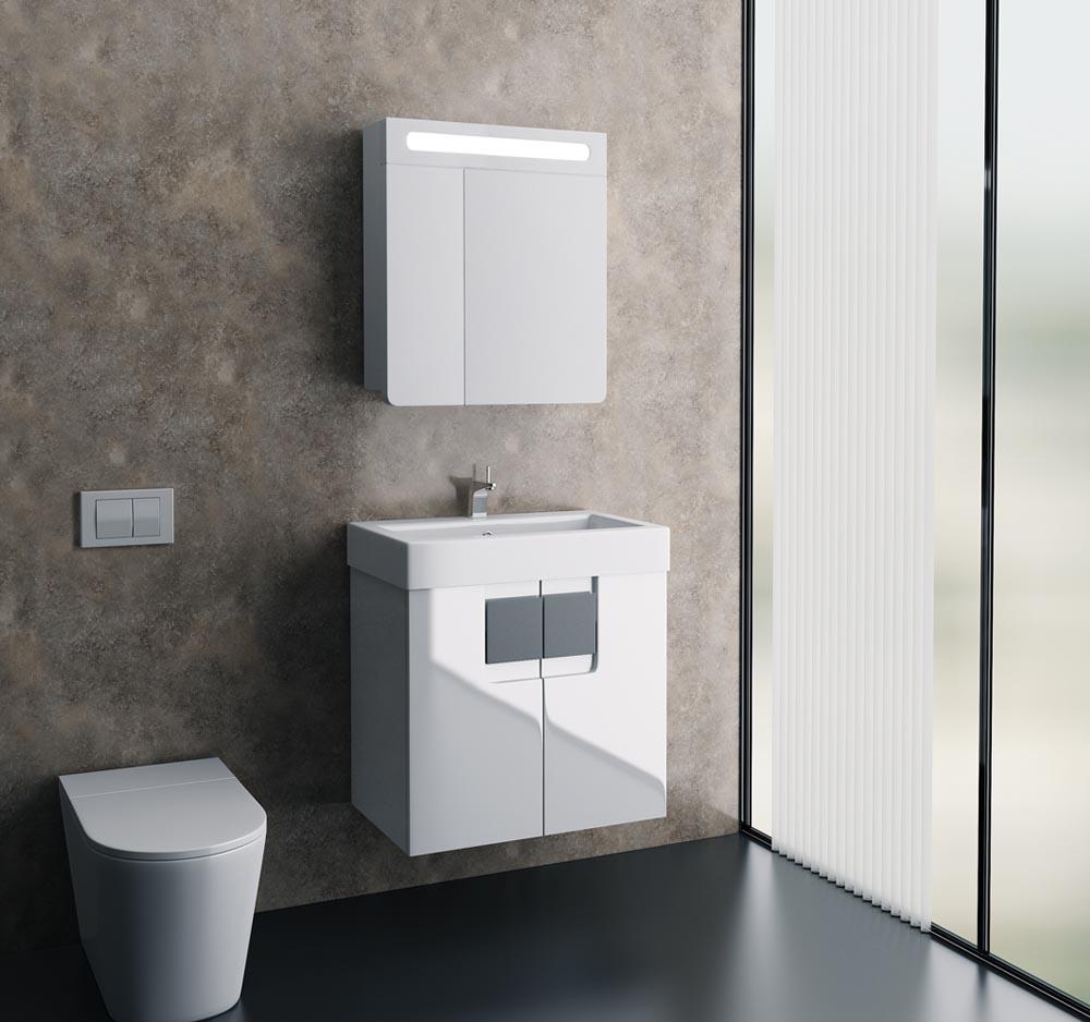 Мебель для ванной комнаты Edelform Glass