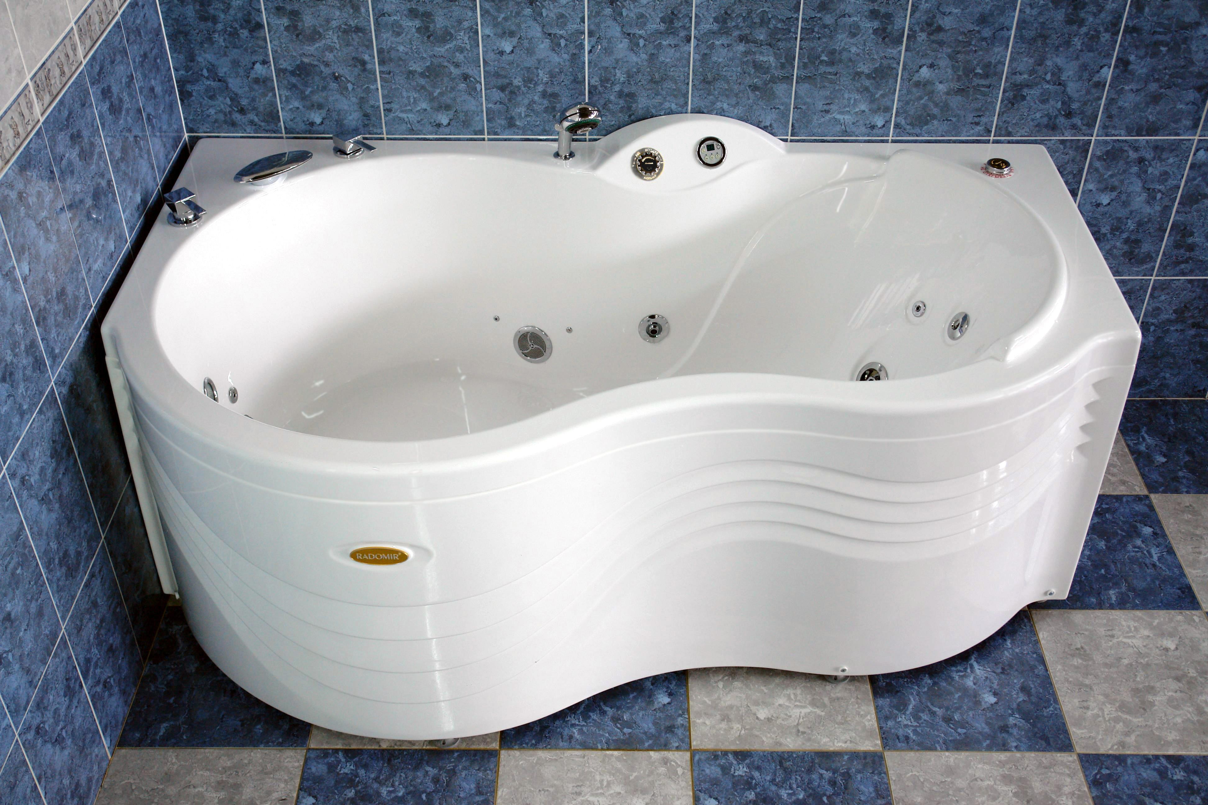 каталог акриловых ванн radomir в спб