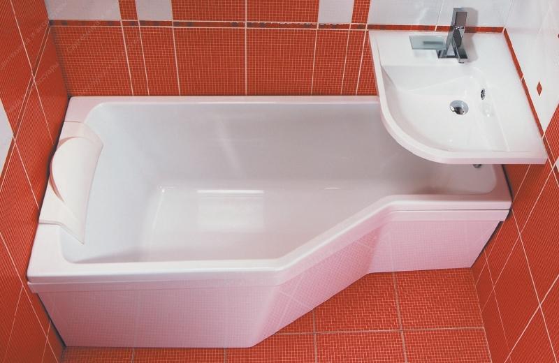 Акриловая ванна 170