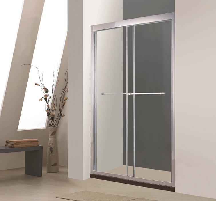 Двухсекционные раздвижные двери в нишу Timo