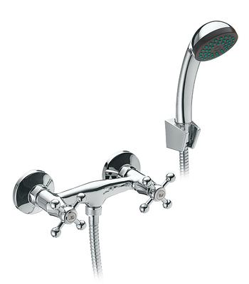 душевая система со смесителем и душем